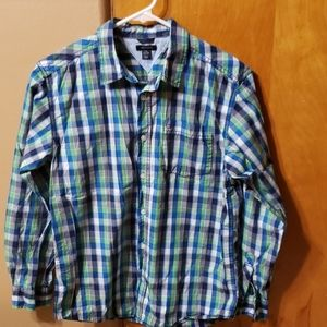BOYS long sleeve TOMMY HILFIGER dress shirt